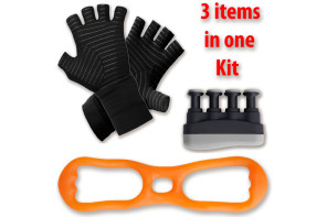 Arthritis Gloves and Exercise Tools Kit